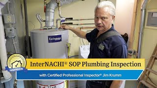 How to Perform a Plumbing Inspection According to the InterNACHI® SOP