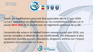 Modifications Lois du Jeu 2019-2020