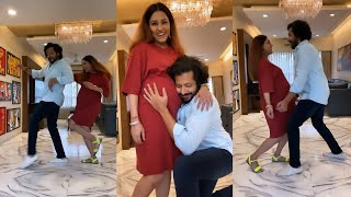 Mom-to-be Neeti Mohan grooves to 'Aap Ke Aa Jaane Se' with husband Nihaar Pandya on his Birthday
