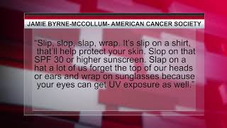 American Cancer Society reminds people to wear sunscreen for Memorial Day, Summer