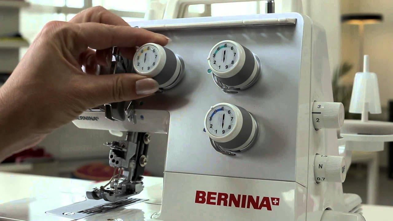 BERNINA Overlocker L 220: Подготовка к работе