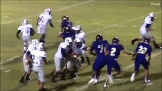 Aransas Pass Varstiy Football 2016 First Half