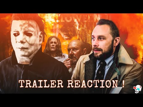 HALLOWEEN Trailer #2 Reaction by Michael Myers & Dr Loomis