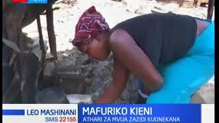 Wakazi wa eneo la Lamuria walazimika kuhama makwao kutokana na athari za mafuriko