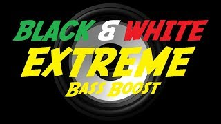 EXTREME BASS BOOST BLACK & WHITE   JUICE WRLD