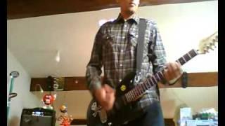 Guitar Anti - Flag - Rotten Future