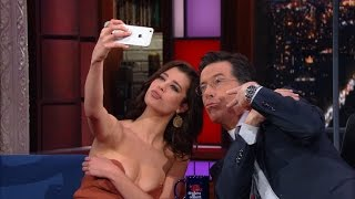 Sarah McDaniel Gives Stephen A Selfie Lesson