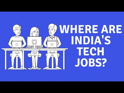 Where are India's Tech jobs? #DailyDope