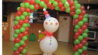 Balloon Decoration For Christmas