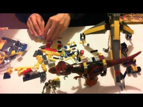 Vidéo LEGO Dino 5886 : La chasse du T-Rex