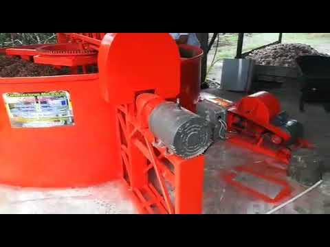 Secadora de cacao rotativa