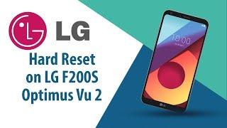 How to Hard Reset on LG Optimus Vu 2 F200S?