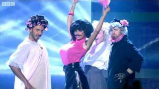 "Katie Price does Queen's ""I Want to Break Free"" - Let's Dance for Comic Relief 2011 Final - BBC One"