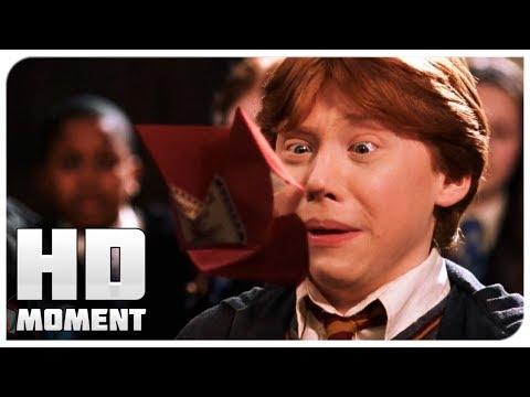 Рон получил кричалку от родителей - Гарри Поттер и тайная комната (2002) - Момент из фильма