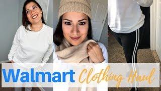 WALMART WINTER CLOTHING HAUL + TRY ON