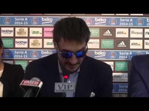 La conferenza stampa di Gianmarco Pozzecco