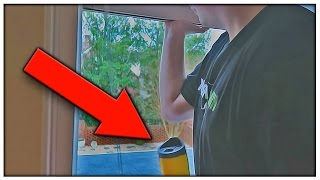 HE THREW IT OUT THE WINDOW!!