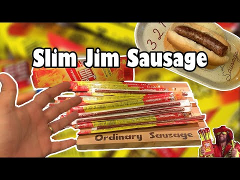 Questionable: Dude Makes A Slim Jim Sausage