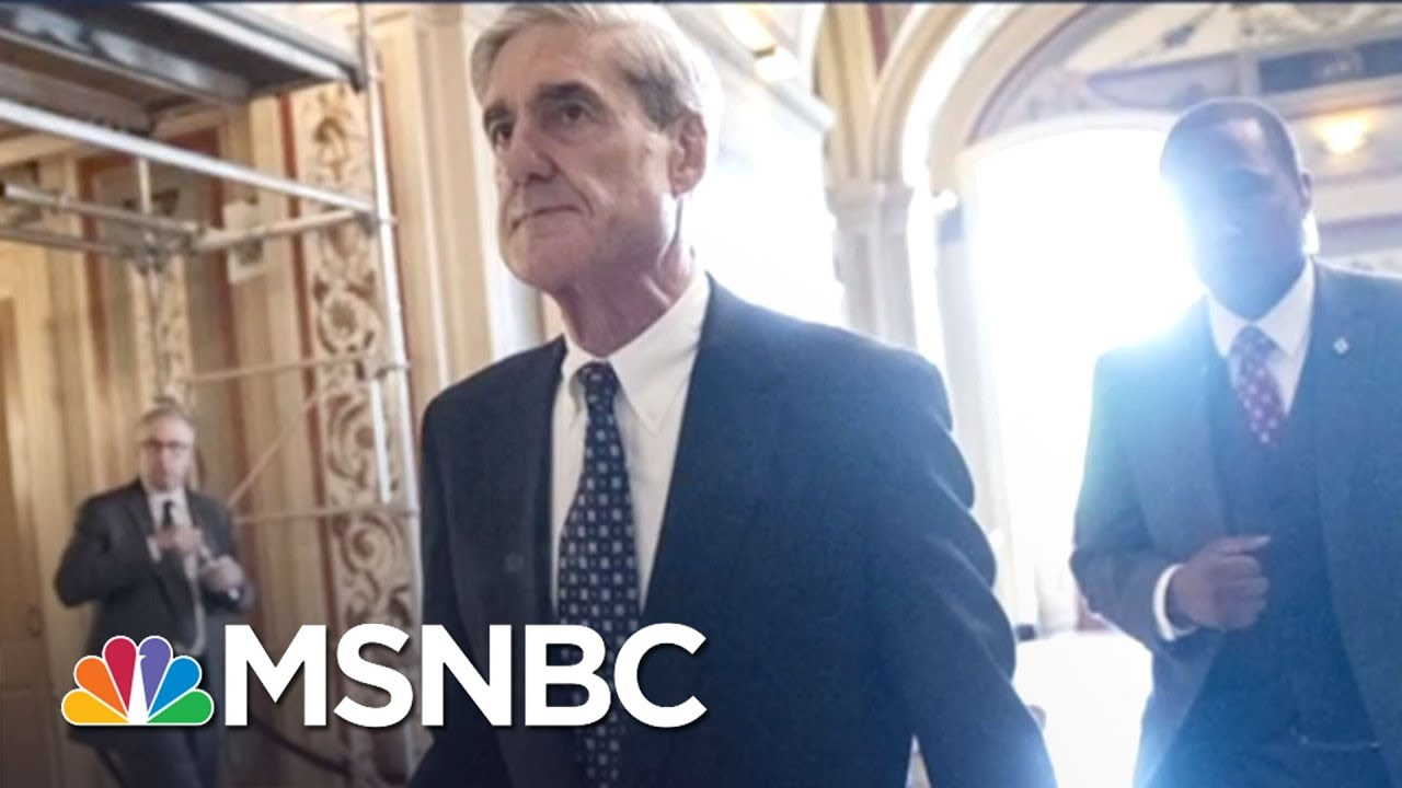 Mueller Report On President Trump Obstruction Takes Shape Ahead Of Schedule | Rachel Maddow | MSNBC thumbnail