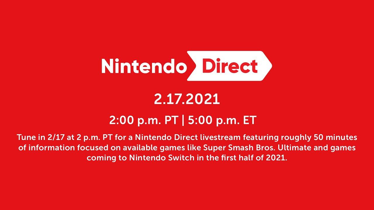 Nintendo Direct (17/02/2021)