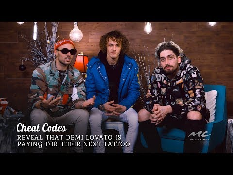 Cheat Codes are Getting Free Tattoos from Demi Lovato