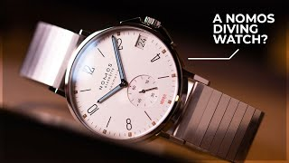 A NOMOS Diving Watch?! - Hands On With NOMOS Glashütte At Baselworld 2019