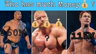 Top 10 richest Wrestler in the World / Top 10 WWE Superstars