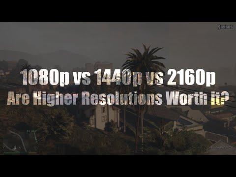 1080p vs 1440p monitor
