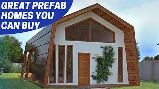 7 Great PREFAB HOMES #1 (some affordable)