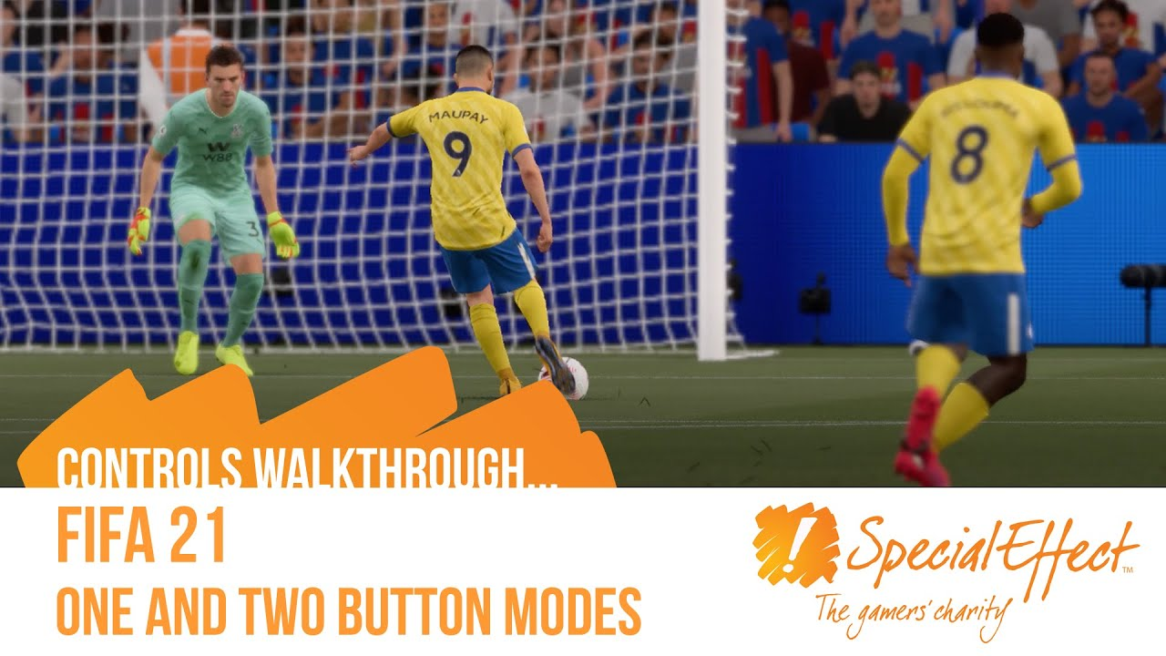 video placeholder for FIFA 21: One and Two Button Modes | Controls Walkthrough Video