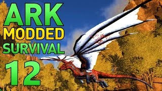 [12] Dragon Boss, Tek Armor, and Night Vision! (ARK Modded Survival Multiplayer)
