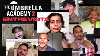 THE UMBRELLA ACADEMY 2: ENTREVISTA ELLIOT PAGE, TOM HOPPER, ROBERT SHEEHAN | ¡Los Hargreeves!
