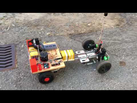 Large scale Car using DUAL 775 DC motors