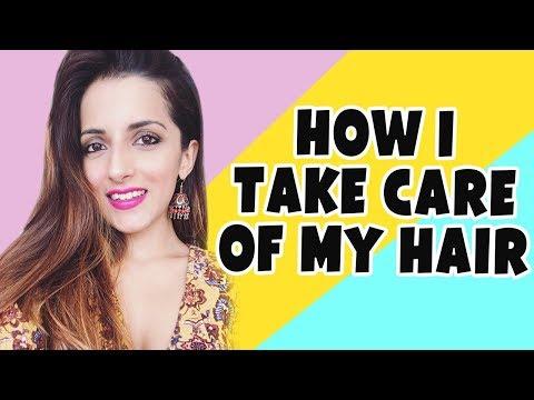 Hair Mask na may yogurt at henna