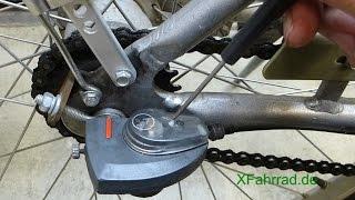 Wie Man Den Schaltzug Bei Einer SRAM 7-Gang Nabenschaltung Wechselt Und Die Schaltung Einstellt