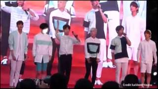 FanCam 140920: 헤일로 HALO~이쁜게최야 (Being Pretty is a Crime)