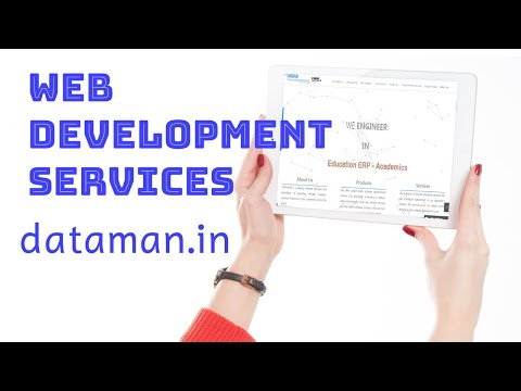 Web Development Services   Dataman.in