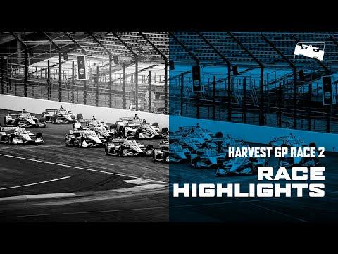 インディーカー第12戦第13戦 インディカー・インディアナポリス レース2ハイライト