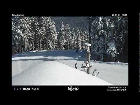 Lavarone - Pista Vezzena - Timelapse Febbraio e Marzo 2013