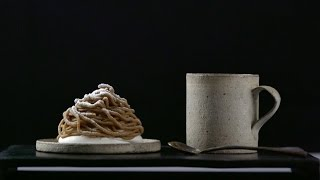 这个季节,你们吃栗子,我们吃栗子蛋糕