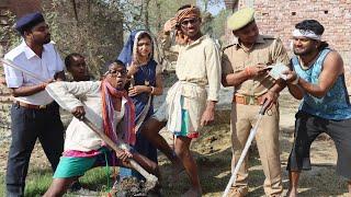 पुलिस ने फोड़ा चिरकुट बाबा का पिछवाडा घुस लिए 5000 हजार फिर क्या हुआ | part-2 Video | Khesari2