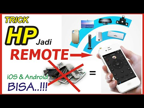 TRIK Rubah HP Jadi REMOTE ( TV, AC, DVD, Dll ) IOS & Android Mp3