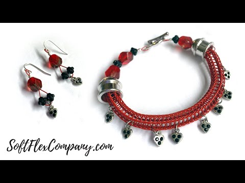 Soft Flex Wire Spool Knitted Jewelry for Valentine's Day: Free Spirit Beading with Kristen