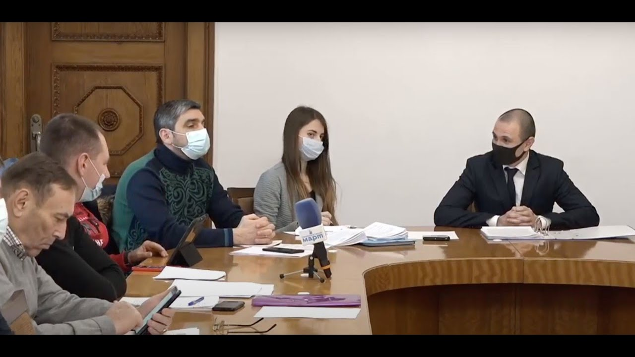 Заседание бюджетной комиссии Николаевского городского совета