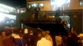 preview picture of video 'dimanche noir au port tanger med 2/9/2012'
