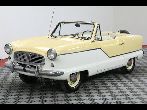 1960 Nash NASH CONVERTIBLE TWO TONE 4 CYLINDER MUST SEE: CALL 1-877-422-2940! FINANCING! WORLD WIDE SHIPPING. CONSIGNMENT. TRADES. FORD