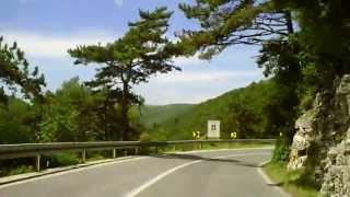 preview picture of video '22.06.2010 (11:37) Von Labin über die Serpentinen nach Raša (Kroatien)'