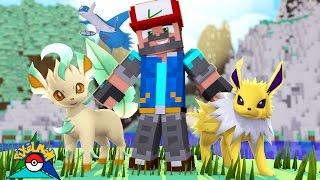 Leafeon  - (Pokémon) - JOLTEON + LEAFEON + FOUND LATIOS!!! [#16]   Minecraft: Pokémon Trinity [Pixelmon]