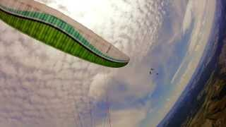 preview picture of video 'Klüsserath ☺ Paragliding ☼ 2013-06-16'