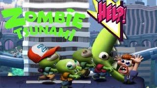 Zombie Tsunami - Мультфильм Игра про ЗОМБИ